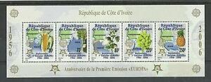 2153 .Ivory Coast 50 Year Europa Cept stamps MNH BL