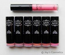 """Pinky Promise"" NYX Round Lipstick + Lip Gloss Set  *Joy's cosmetics*"