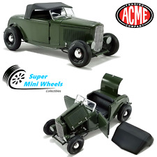 ACME 1:18 Green with Envy 1932 Ford Roadster- Green - Limited to 498