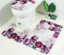 Bathroom Floor Carpet Toilet Seat Cushion Anti-Slip Microfiber Eco-Friendly Pads
