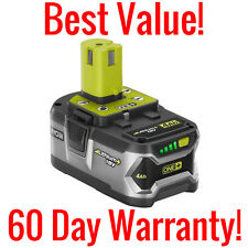 GENUINE 4AH RYOBI ONE+ P108 18 VOLT LITHIUM ION REPLACEMENT BATTERY 18V 72WH