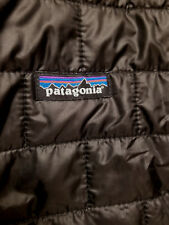 PATAGONIA  Womens  L/Large  Nano Puff Jacket NWT   BLACK   100% Authentic