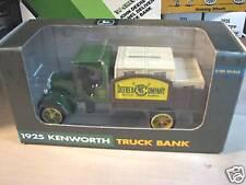 1993 ERTL (JOHN DEERE) 1925 KENWORTH STAKE TRUCK BANK. NIB