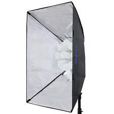 Tageslicht Daylight Studioleuchte 9x45 W / 5500°K mit Softbox 60x90 cm