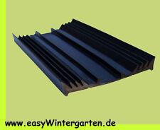 Glasauflagegummi - Verlegegummi  50 mm breit für 50 mm Unterkonstruktionen