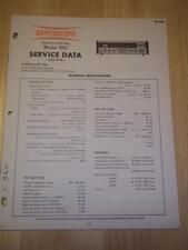 Superscope Service Manual~360 Receiver~Original~Repair