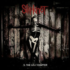 SLIPKNOT 5 THE GRAY CHAPTER LP VINYL 33RPM NEW EXPLICIT DOUBLE LP
