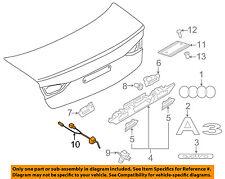 AUDI OEM 15-16 A3 Quattro Trunk Lid-Rear Backup Camera 5Q0980551A