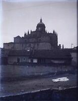 ESPAGNE Cathédrale à Identifier, NEGATIF Photo Stereo Plaque Verre VR10L3n17