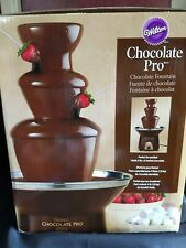 Wilton Chocolate Pro Fountain 3 tier 4 lb capacity fondue party dipping