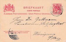 Briefkaart van Hengelo naar Wernigerode, Duitsland (1907)