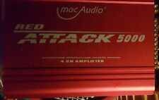 Macaudio redattack 5000 4 canaux phase finale, Max. 650 W