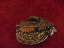 HARLEY DAVIDSON  belt buckle eagle
