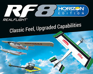 RealFlight 8 Horizon Hobby Edition (RFL1004) with InterLink Elite Controller