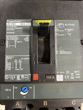 Square D Jda36150 150A 600V 3 Pole Circuit Breaker