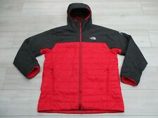 The North Face Mens Redpoint Optimus Primaloft XL Negro Rojo Serie Summit