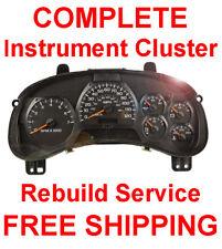 Gmc Envoy Speedometer Instrument Cluster Gauge and Display Repair(Fits: More than one vehicle)
