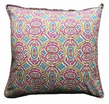 "Anokhi Pillow cover - Samakand Spice - 24"" x 24"" - Cotton"