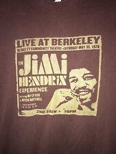 Vintage Jimi Hendrix Live at Berkeley men's shirt size medium