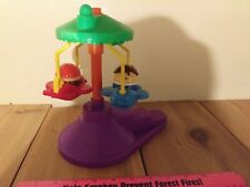 Fisher Price, Little People, Carnival Amusement Park, Airplane Swing Ride, with