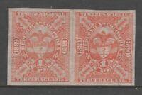 Columbia Revenue Fiscal Stamp 11-11-20-1 MNH Gum Pair- NICE