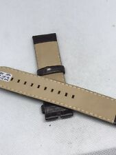 Fossil Band Brown Leather Watch Bracelet Strap  22mm C229