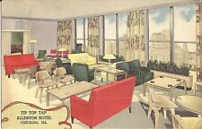 Chicago, ILLINOIS - Allerton Hotel - Tip Top Tap Lounge - ADVERTISING - 1948
