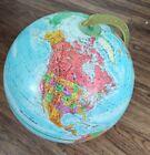 "Vintage Replogle Imperial 12"" Diameter World Raised Relief Globe"