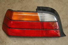 BMW E36 323 325 328 M3 2DR Coupe Convertible Rear Tail Light Left Side Amber **