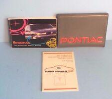 92 1992 Pontiac Bonneville owners manual