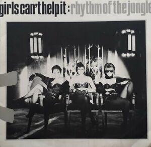 "Girls Can't Help It-Rhythm Of The Jungle Vinyl 12"" Single.1983 Virgin VS 602 12."