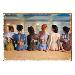 Aquarius Officially Licensed Pink Floyd Back Art Designed Tin Constructed Sign