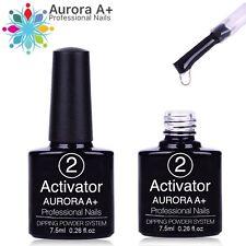 """ACTIVATOR Dipping System Dip Nail """"NO LAMP"""" Powder Acrylic Nails 7.5ml (Step 2)"""