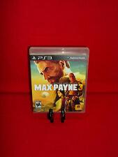 Max Payne 3 (Sony PlayStation 3, 2012 PS3) Complete & Tested