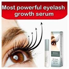 *** FEG Rapid Eyelash Growth Serum 3 ml Enhancer Thicker Darker Longer Eyelashes