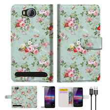 Royal Garden Wallet TPU Case Cover For HUAWEI Y3 II 2 -- A023