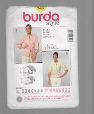 BURDA pattern 7498 JACKET plus  Sz 10 12 14 16 18 20 22 uncut unused