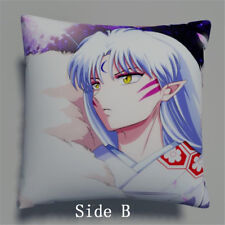 InuYasha Sesshoumaru Anime manga two sides Pillow Cushion Case Cover 336