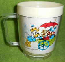 Vintage Mickey Mouse/Disney Plastic Drinking Cups Eagle Products USA 4, 8 ounce