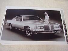 1975 PONTIAC GRAND PRIX  11 X 17  PHOTO   PICTURE
