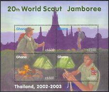 Ghana 2002  Scouts/Scouting/Jamboree/Camp Fire/People/Youth/Leisure m/s (n43918)