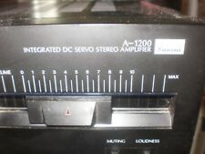 SANSUI A1200 Stereo Integrated Amplifier