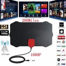 200 milles 4K 1080P antenne TV numérique intérieure avec amplificateur HDTV