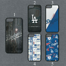 Los Angeles Dodgers Phone Case For iPhone 11 Pro X XS Max 8+ 7 Plus Black Cover
