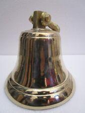 Brass BELL - Brass Made - 4  Kilo - Great Sounding - ship / Boat / Church