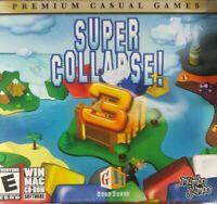 Super Collapse 3 Windows Mac PC CD ROM Game