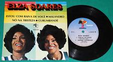 """Elza Soares - Estou com raiva de voce + 3 BRAZIL RARE 4 track 7"""" ep"""