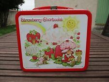 Lunch Box valisette CHARLOTTE AUX FRAISES 1982 vintage STRAWBERRY SHORTCAKE