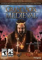 Grand Ages: Medieval - PC War Game - New Sealed
