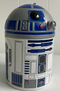 Star Wars Official R2D2 Plastic Storage Tub Height  16cms Collectable Free P&P